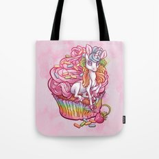 Unicorn in my cupcake Tote Bag