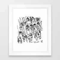The Cat's Meow Framed Art Print
