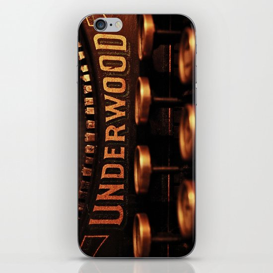 Underwood No. 5 iPhone & iPod Skin