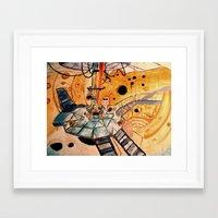 Where would you like to start? Framed Art Print