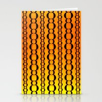 Gold And Chains - Vivido… Stationery Cards