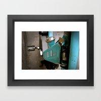 mechanics Framed Art Print