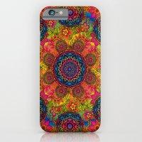 baroque mandalas iPhone 6 Slim Case