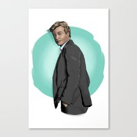Mr Jane Canvas Print