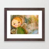 Cherub Framed Art Print