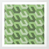Geometrix LXII Art Print