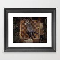 The Monkey's Paw Framed Art Print