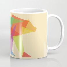 Fractal Geometric Bear Mug