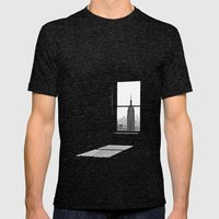 Empire State Mens Fitted Tee Tri-Black SMALL