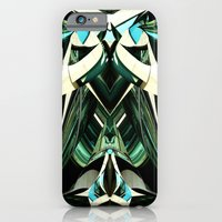 iPhone & iPod Case featuring Green Warp by Emily H Morley