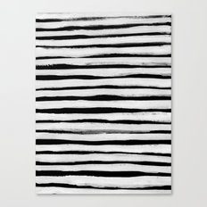 Black and White Stripes II Canvas Print