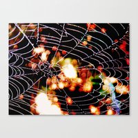 spider love Canvas Print