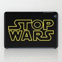 Stop Wars iPad Case