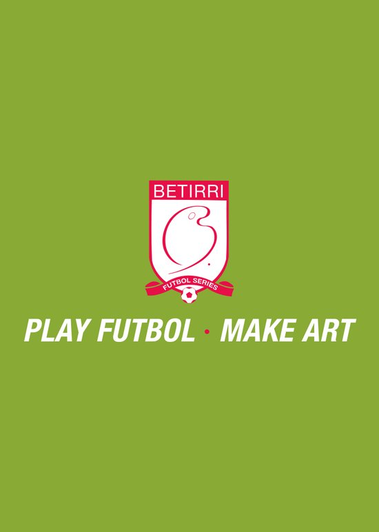 Play Futbol, Make Art Art Print