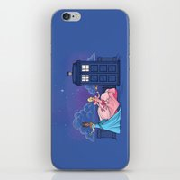 The Princess And The Doc… iPhone & iPod Skin