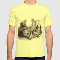 Beauty Mens Fitted Tee Lemon SMALL