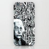 Einstein.  iPhone 6 Slim Case