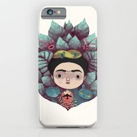 iPhone & iPod Case featuring frida by yohan sacre