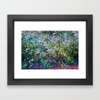 Happy Warm Colors Framed Art Print