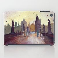 Prague, Watercolor Explo… iPad Case
