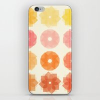 Geometric Flowers iPhone & iPod Skin