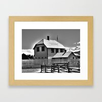 Captain's Quarters Framed Art Print