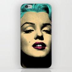 MARILYN BLUE iPhone & iPod Skin