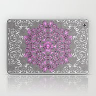 Mandala Pattern With Gli… Laptop & iPad Skin