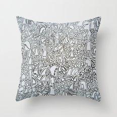 Whack Throw Pillow