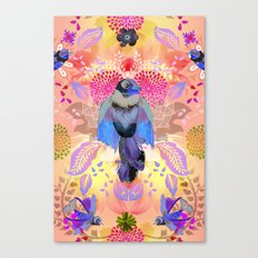 Blissful Birds Canvas Print