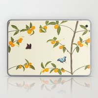 Jenny Chinoiserie Kumquat Laptop & iPad Skin