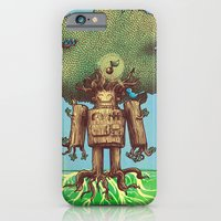 iPhone & iPod Case featuring Re-Growth by Nick Volkert