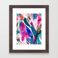 Paradise Watercolor Bota… Framed Art Print