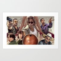 Big Lebowski (alt version) Art Print