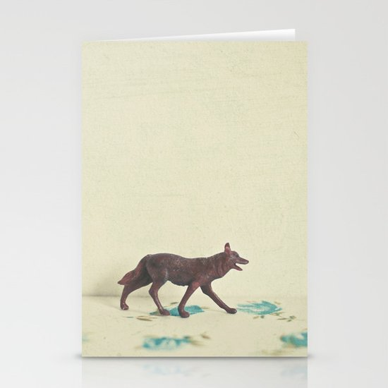 Wandering Wolf Stationery Card