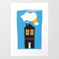 Happy Home Art Print