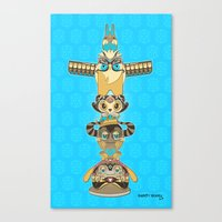 RUFUS TOTEM Canvas Print