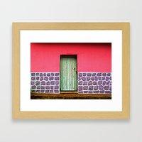 Doorways IV Framed Art Print