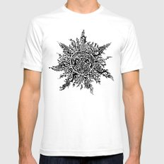 The Sun Mens Fitted Tee White SMALL