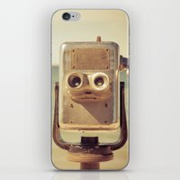 Robot Head iPhone & iPod Skin