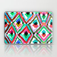Watercolour Ikat Laptop & iPad Skin