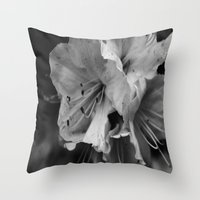 Timeless Black & White  Throw Pillow