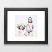 Maasai Framed Art Print