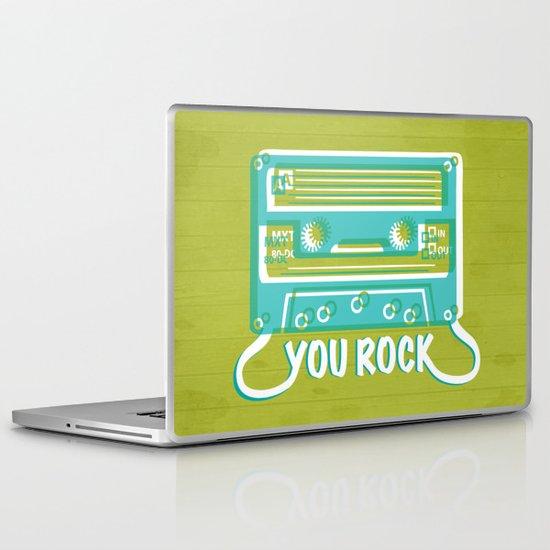 You Rock Laptop & iPad Skin