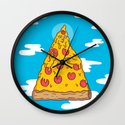 Pizza Be With You Wall Clock
