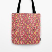 Desert Diamonds Pattern Tote Bag