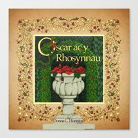Welsh Version Oscar Front cover Canvas Print