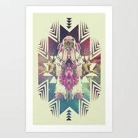 Tiger Chaman  Art Print