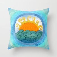 A Happy Day Throw Pillow