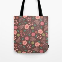 Boho Floral Mix Tote Bag